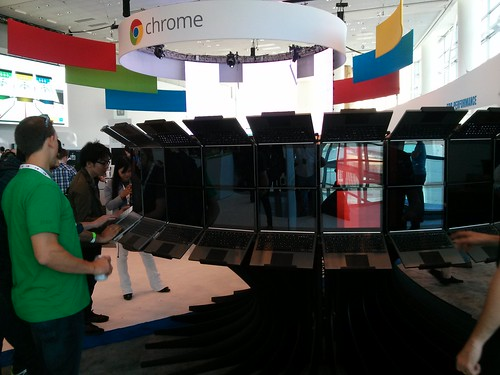 Lots of Chromebook Pixels - San Francisco & Google I/O, May 2013