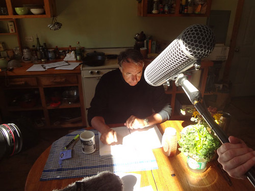 finalrune posted a photo:	Day 2 - 9/15/12 -  Field recording for The Cleansed: Season 2 at Wolf Pine Farm in Alfred, Maine