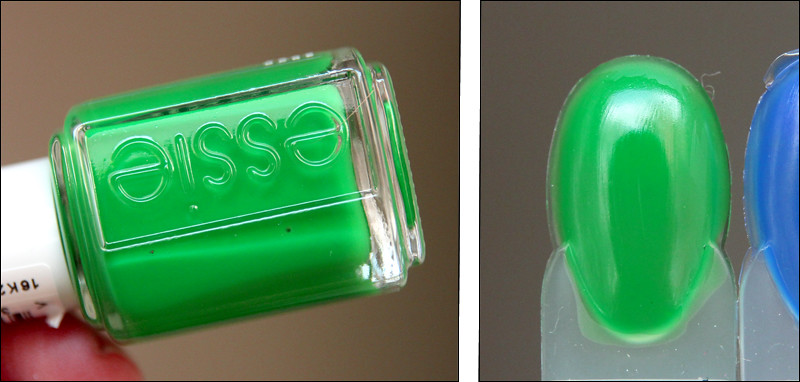 Essie Shake your $$ maker swatch