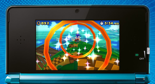 Sonic Lost World 3DS - E3 Screens