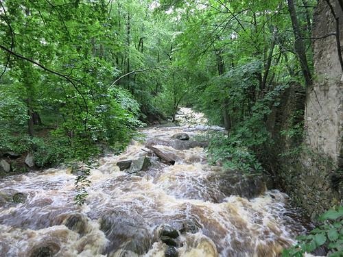 Furnace Hill Brook rises by Rick Payette via I {heart} Rhody