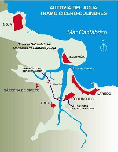 COMSA construirá el tramo Cícero-Colindres de la Autovía del Agua de Cantabria