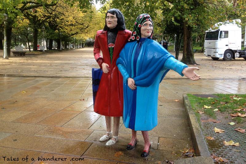 SANTIAGO DE COMPOSTELA - As dúas Marías