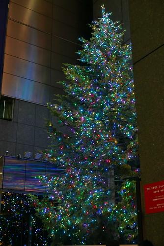 銀座 ミキモト クリスマスツリー