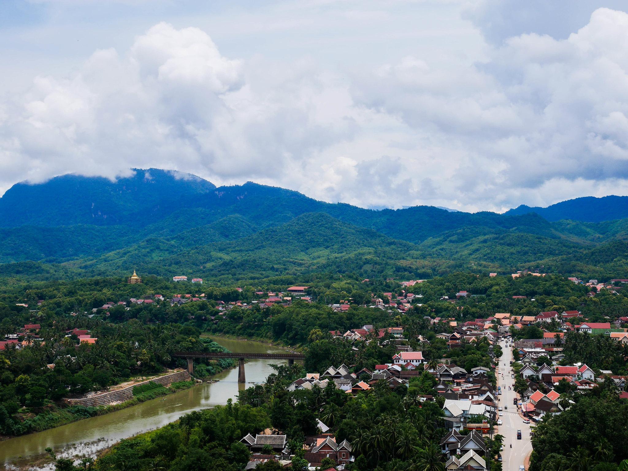 Luang Prabang et les chutes d'eau de Kuang Si