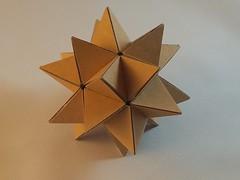 Cardboard Stellated Icosahedron
