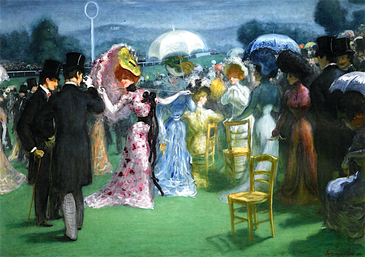 At the Races by Louis Anquetin, c. 1895