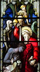 Peter baptises an Ethiopian eunuch