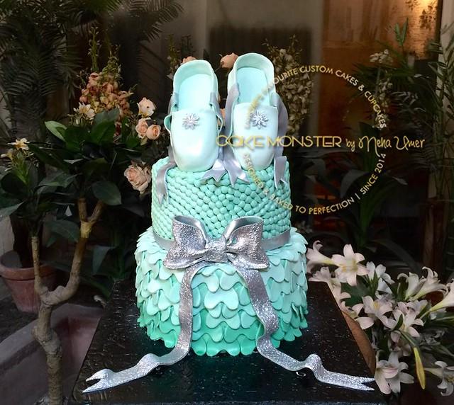 Ballerina Cake by Cake Monster