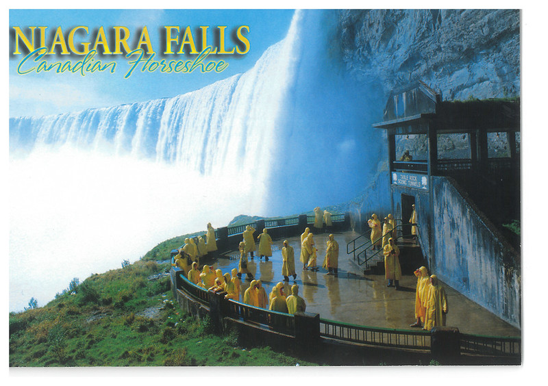 Canada - Niagara Falls 59 - Journey behind the falls