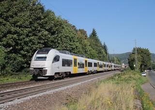 Transregio/MittelrheinBahn emus 460 004/001 Oberwinter