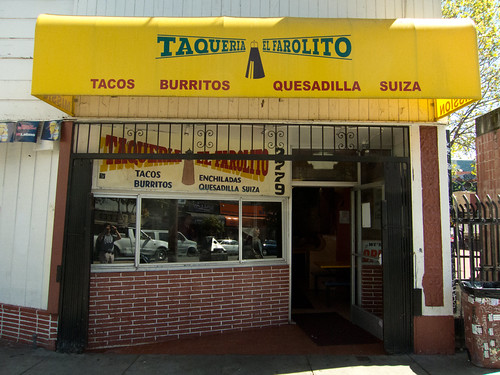 Taqueria El Farolito in The Mission