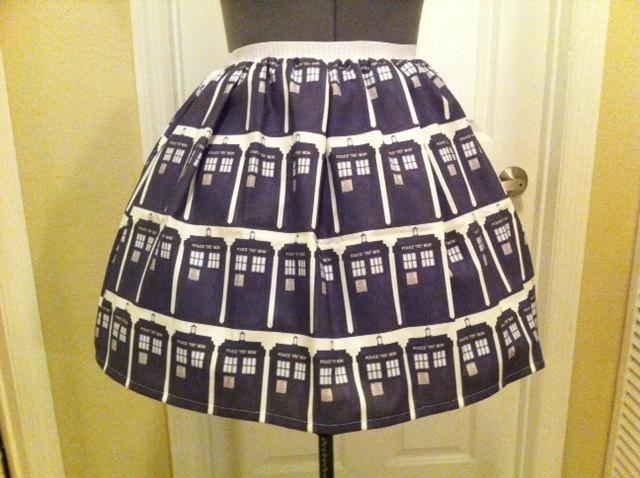 Tardis Skirt