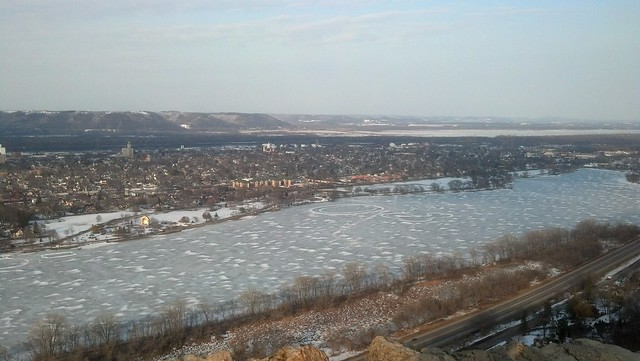 Early spring Winona from above (#2)