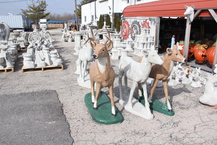 yardart_deer