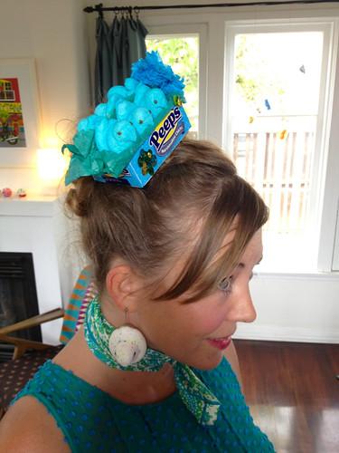 Peep it on my head