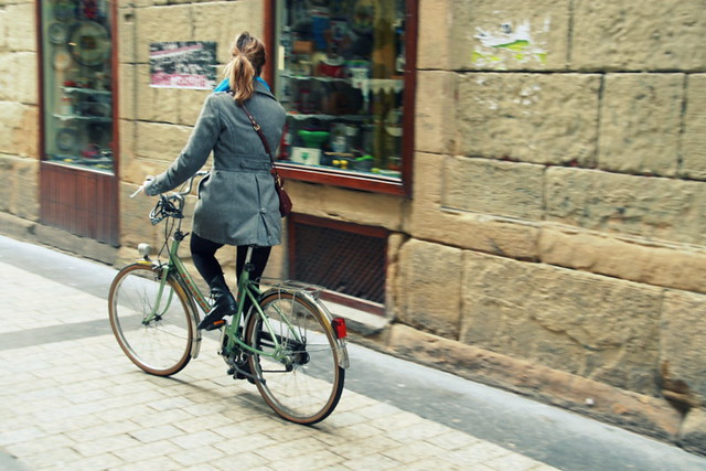 Bici-chic in Spain