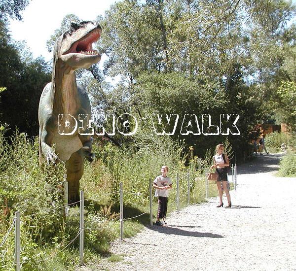 Life Size Robotic Dinosaur in Dinopark