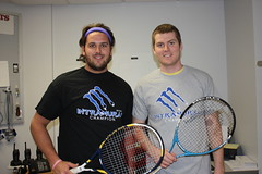 Spr13 Tennis Dbls Daniel and Shane