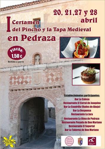 I Certamen del pincho y la tapa medieval de Pedraza