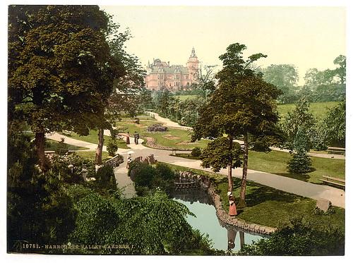 [Valley Gardens, I., Harrogate, England]  (LOC)