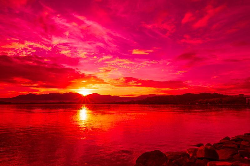 8623756616 a0ba525f7a c Outing Bersama Isteri Dan Gambar Sunrise Merahnya Mak Ngah