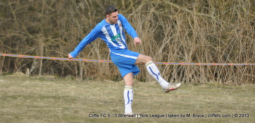 Cliffe FC 5 - 3 Strensall 6Apr13