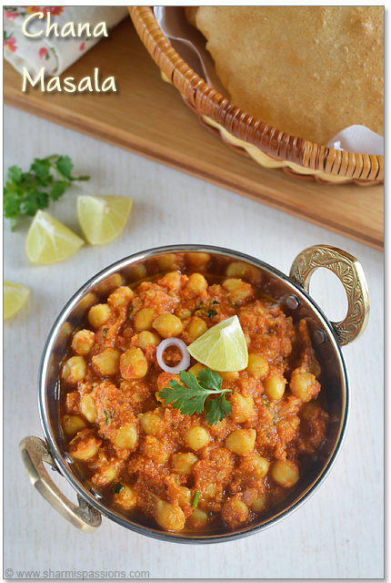 Chana Masala - Chole Masala