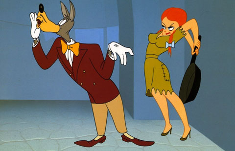 tex avery's wolf whistle character