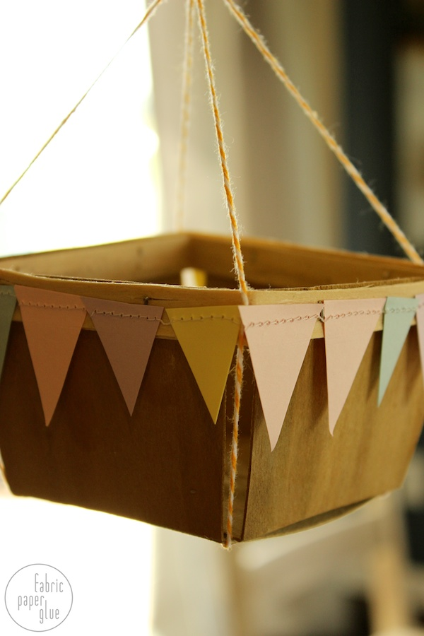 Fabric paper glue try this hot air balloons for How to make a small air balloon