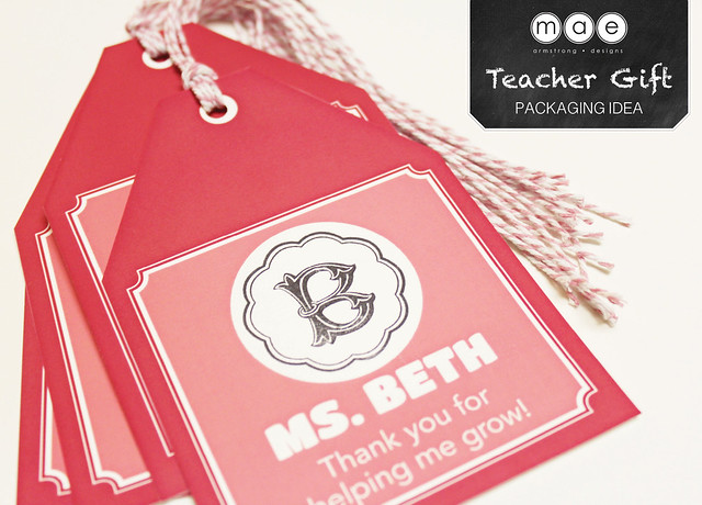 Teacher Gift - Packaging Idea5