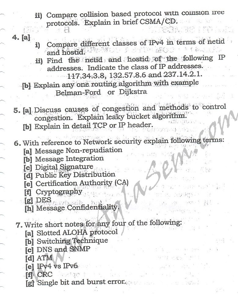 DTU Question Papers 2010 – 8 Semester - End Sem - COE-411