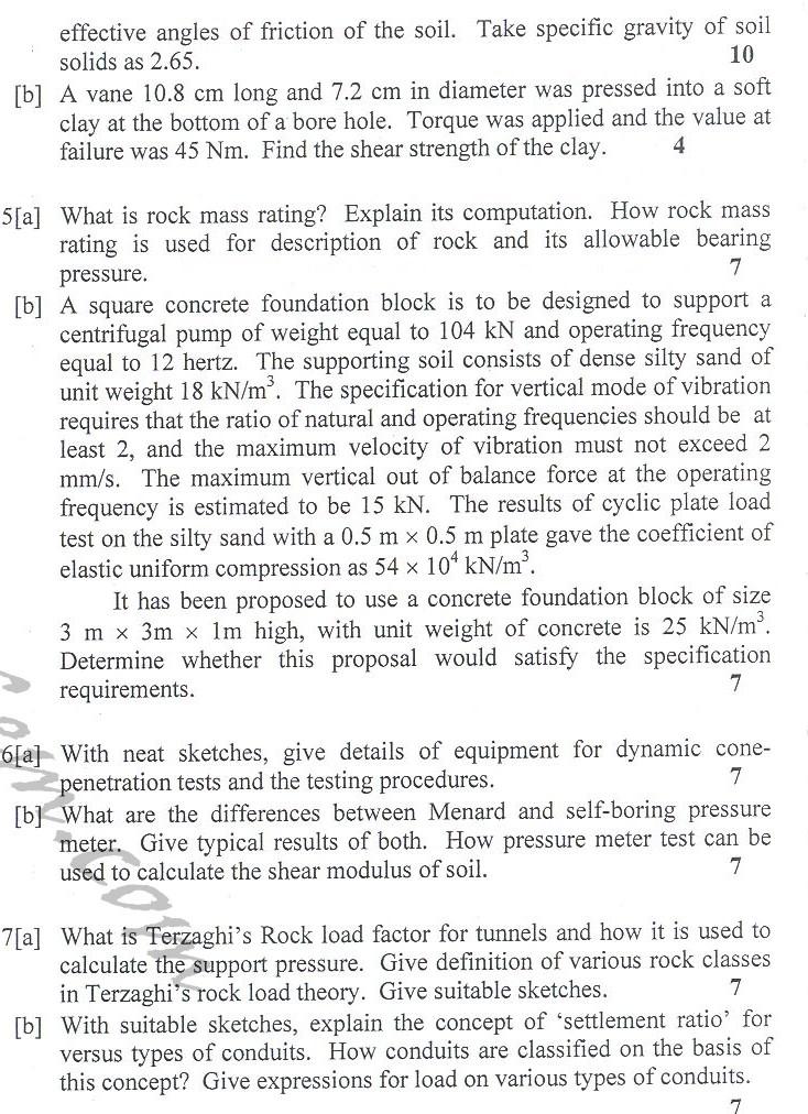 DTU Question Papers 2010 – 8 Semester - End Sem - CE-411