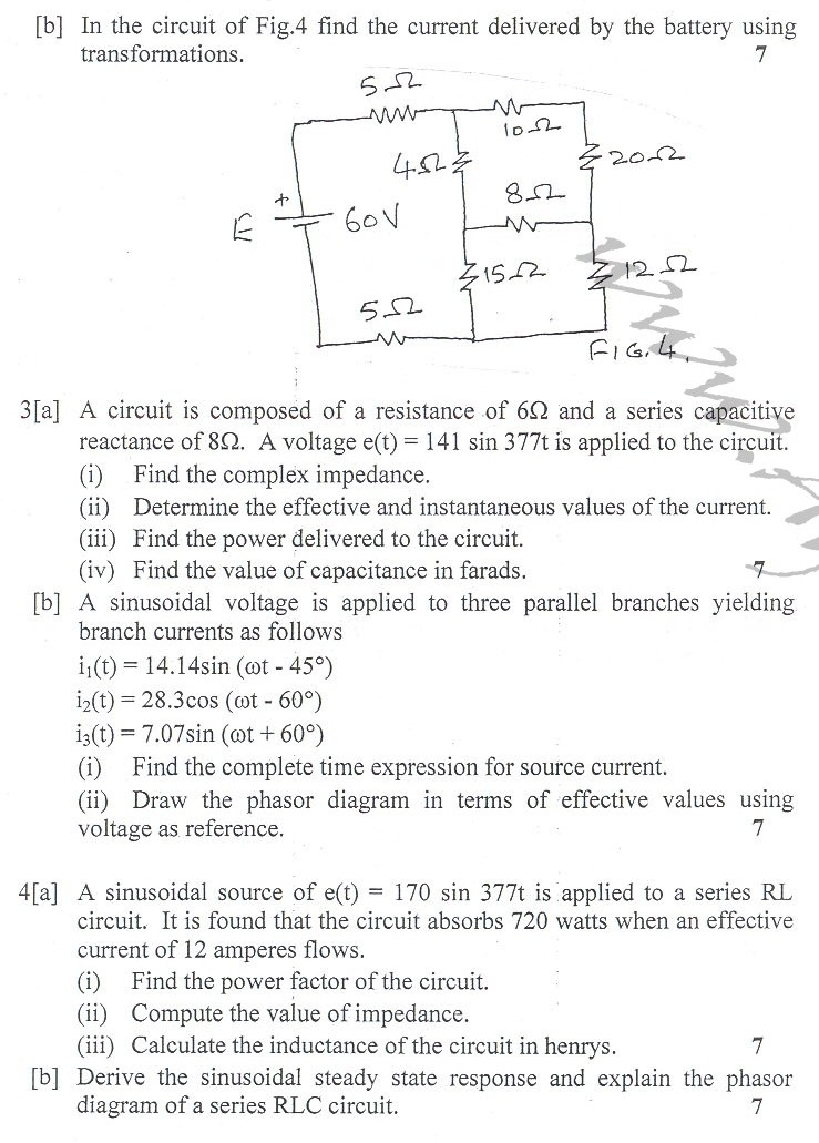DTU Question Papers 2010 – 4 Semester - End Sem - CE-212