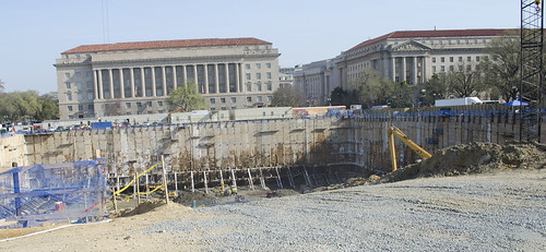 Construction site - Smithsonian National Museum of African American History and Culture - 2013-04-09
