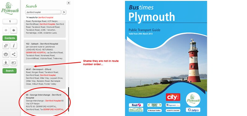 Plymouth Bus Timetable
