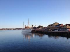 Dannebrog: The Royal yacht in Svendborg