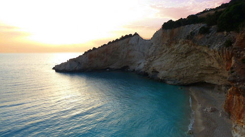 Porto Katsiki Sunset, Lefkada, Greece