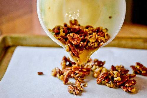 Brown Sugar Banana Parfaits with Maple-Glazed Pecans-2