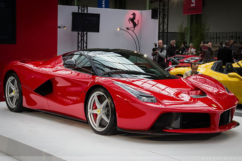 la super voiture Ferrari LaFerrari