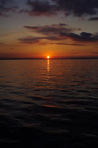 karamürsel sunset by yılmaz ürgün