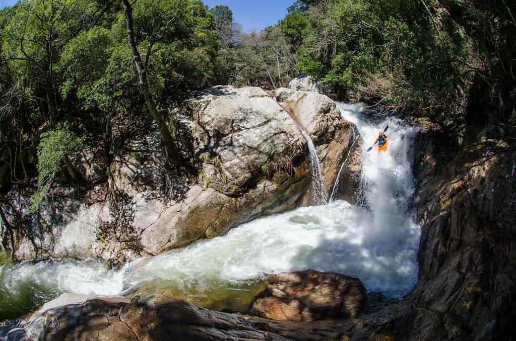 Codi Waterfall in Corsica