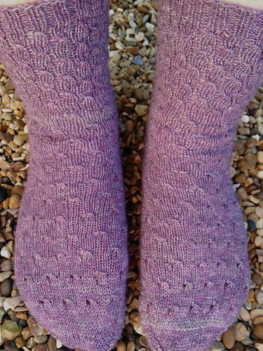 FO: Honey Badger Socks