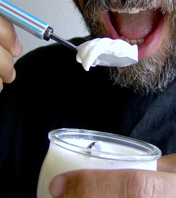 Charrúa cantando, Jogurt casero