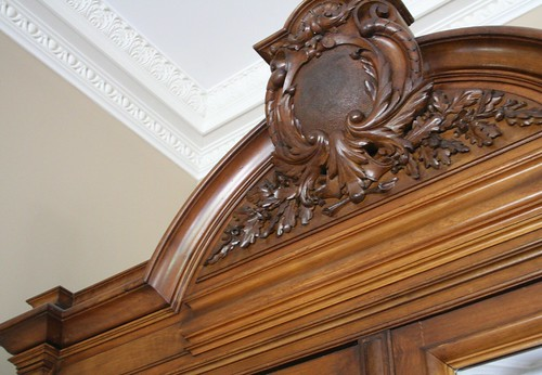 Carved Pediment