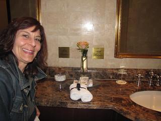Both Hemispheres in One Bathroom