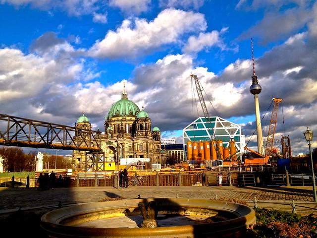 Berlin sunlight