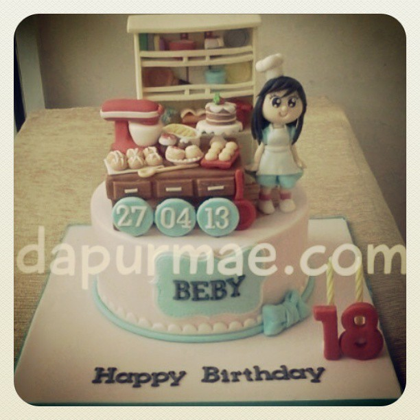 Kitchen cake @dapurmae #kitchen #cake #food