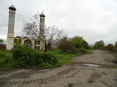 The Mosque In Agdam