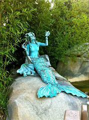Human Statue Mermaid